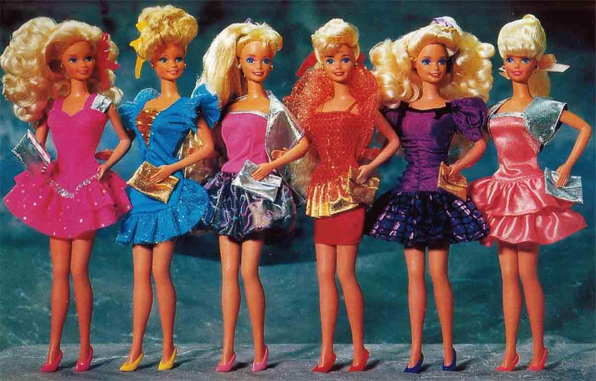 barbie-evolution