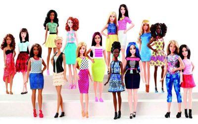 Barbies body positive : rondes, petites ou grandes elles débarquent !